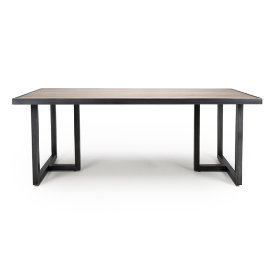 Bergen Large Industrial Wooden Dining Table In Oak_3