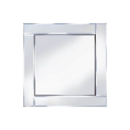 Bevelled 60x60 Square Wall Mirror