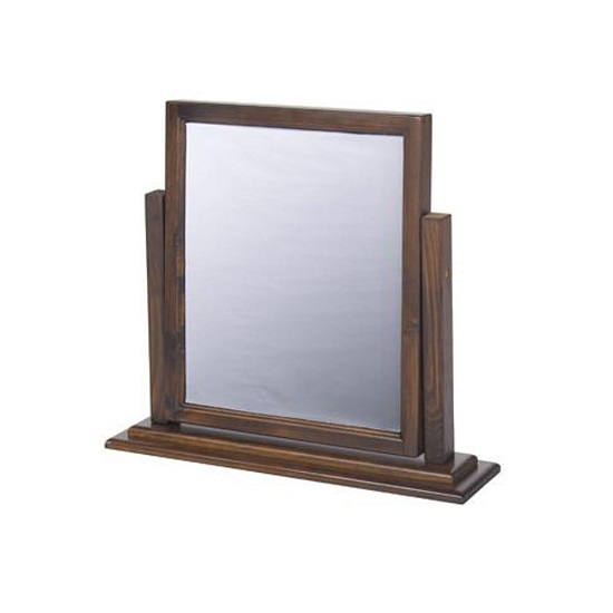 Biston Single Mirror In Dark Tinted Lacquer Finish