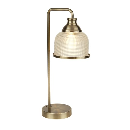 Bistro II 1 Light Table Lamp In Antique Brass