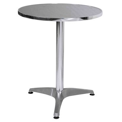 Bistro Round Aluminum Table 2246 Furniture in Fashion