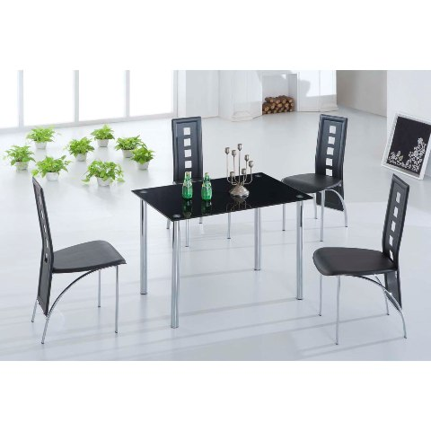 black glass dining set BasixJet4 - Latest Restaurant Furniture Updated For Today's Diner