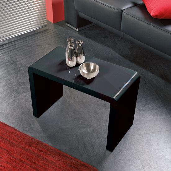 Universal White High Gloss Coffee Table Cft100wg 11707: High Gloss Black Side/Coffee Table, 86592