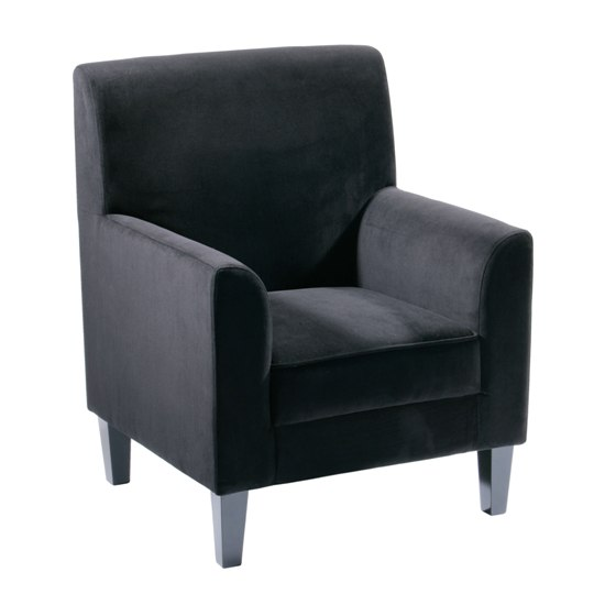 black velvet chair 2401997 - 10 Amazing Relaxation Chairs That Will Decorate A Home Library