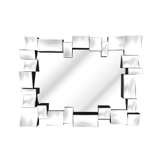 Solitaire Block Wall Mirror