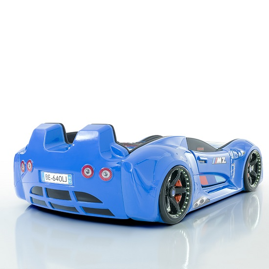 ... BMW Childrens Car Bed In Blue With LED And Leather Seats_3 ...