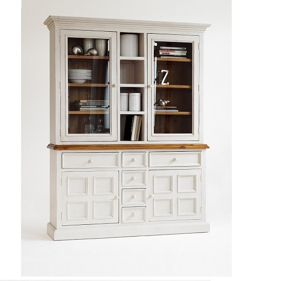 White Pine Cabinets: Boddem Buffet Display Cabinet In White Pine With Drawers