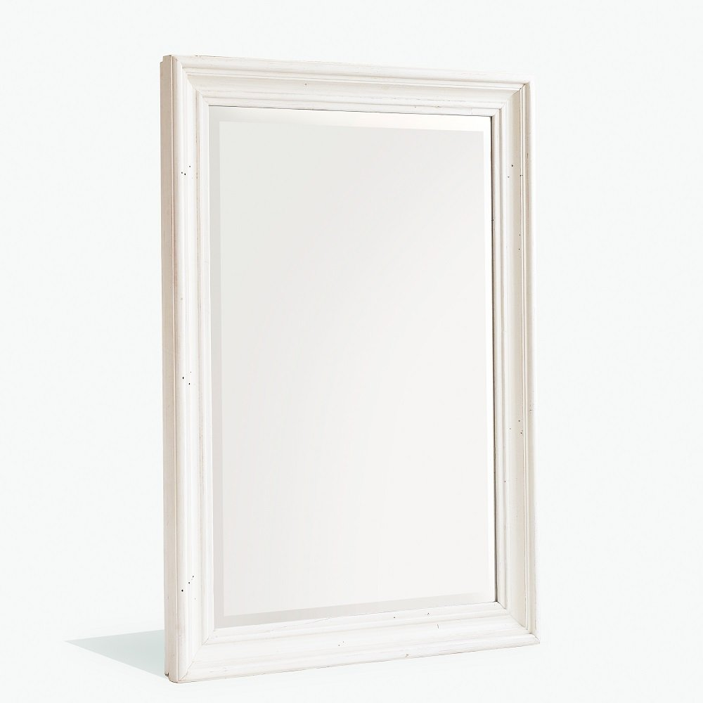 Boddem Wall Mirror In  White Pine Cottage Style