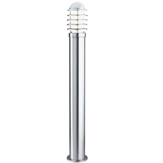 Bollard IP44 Tall Outdoor Light In Stainless Steel