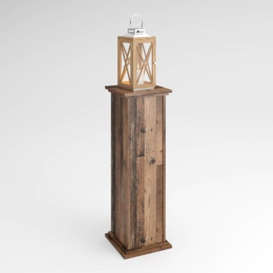 Bootes Wooden Lamp Table In Canadian Oak