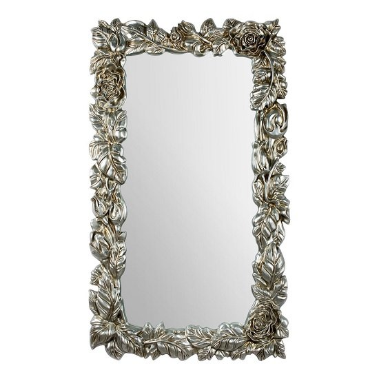 Boule Wall Mirror In Champagne With Garland Effect Frame