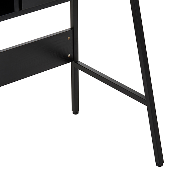 Bradken Wooden Computer Desk In Black Oak_3
