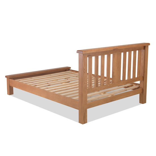 Brendan Wooden Single Low Foot Bed In Crafted Solid Oak_2