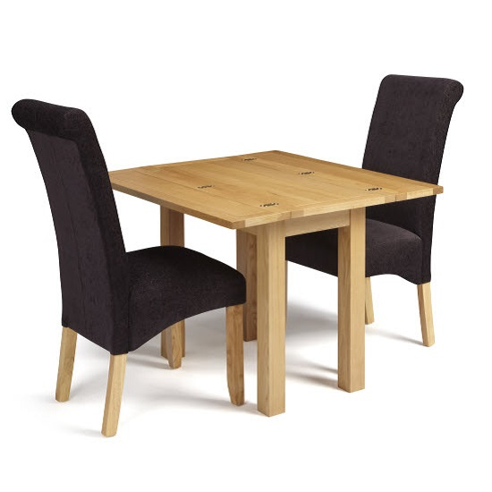 Brento Extendable Dining Table Rectangular In Solid Oak_7