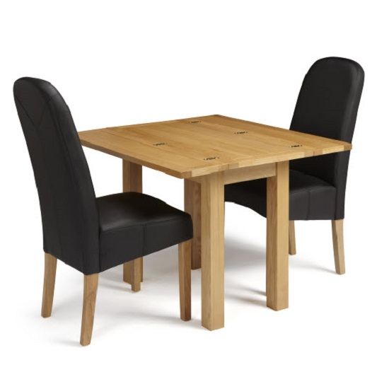 Brento Extendable Dining Table Rectangular In Solid Oak_8