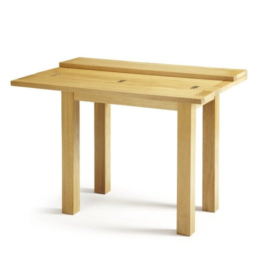 Brento Extendable Dining Table Rectangular In Solid Oak_2