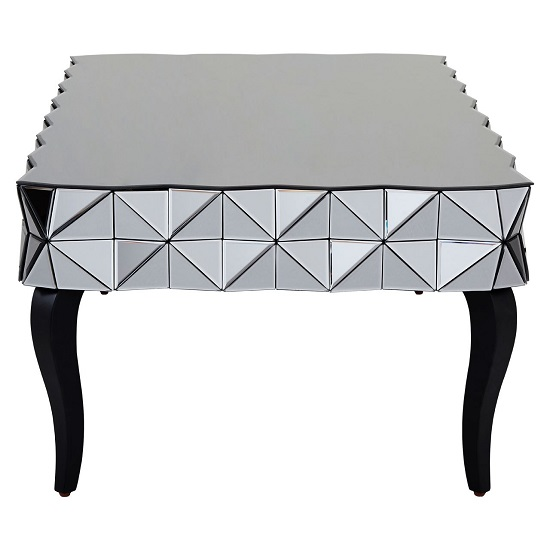 Brice Glass Coffee Table Rectangular In Silver With Wooden Legs_2