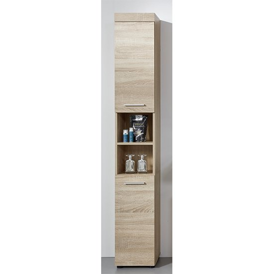Britton Bathroom Furniture Set 5 In Sagerau Light Oak_4