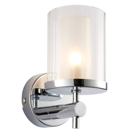 Britton Wall Light In Chrome