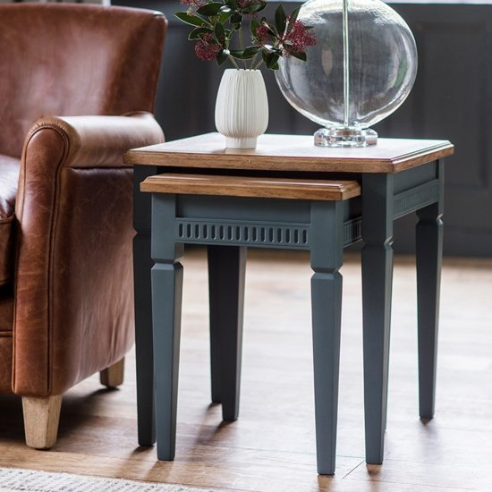 Bronte Set Of 2 Nesting Tables In Storm