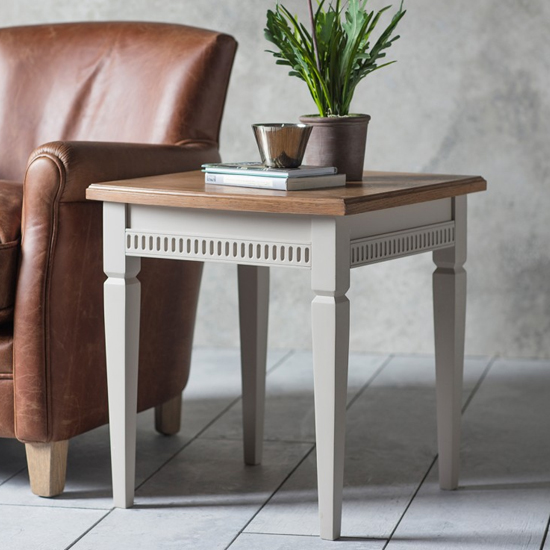 Bronte Wooden Side Table In Taupe_1