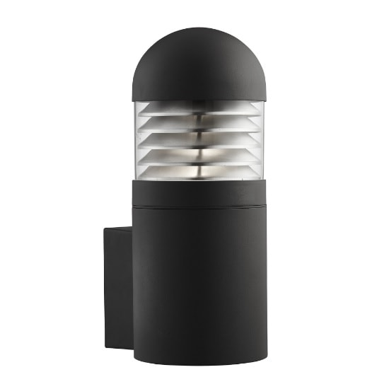 Bronx Outdoor Wall Light In Black