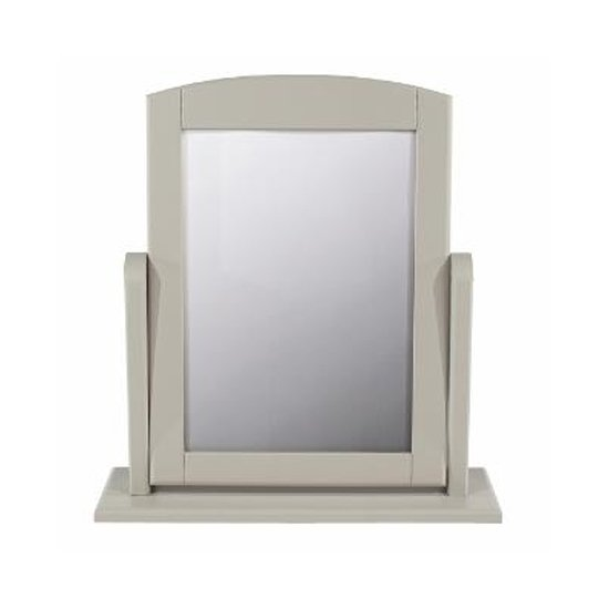 Brora Single Dressing Mirror With Grey Frame