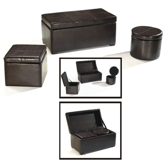 brown leather storage stools C5055 - Why Look For Coffee Tables With Ottomans That Pull Out?