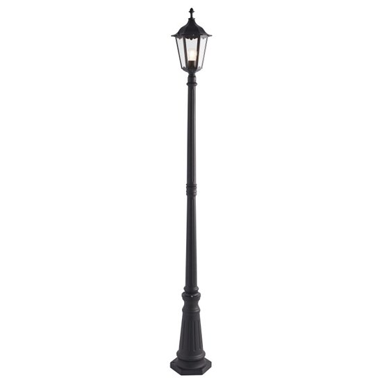 Burford Large Floor Lamp In Black