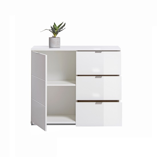 Burton Compact Sideboard In White High Gloss_4