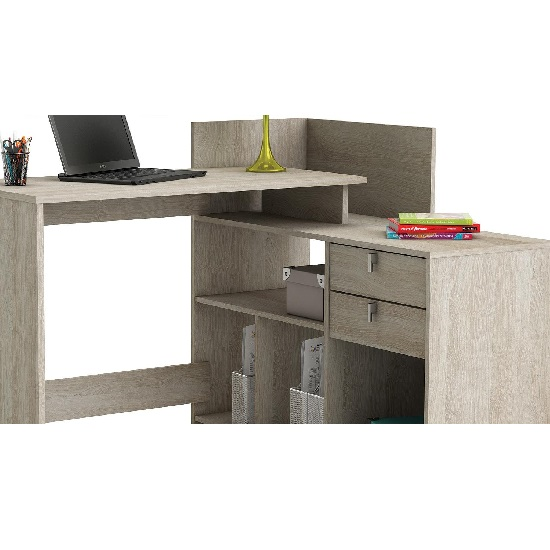 Bylan Corner Computer Desk In Shannon Oak With Storage_2