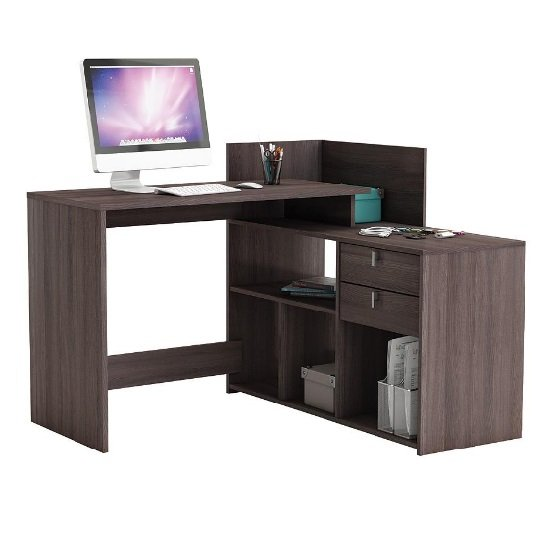 Bylan Corner Computer Desk In Vulcano Oak With Storage_1