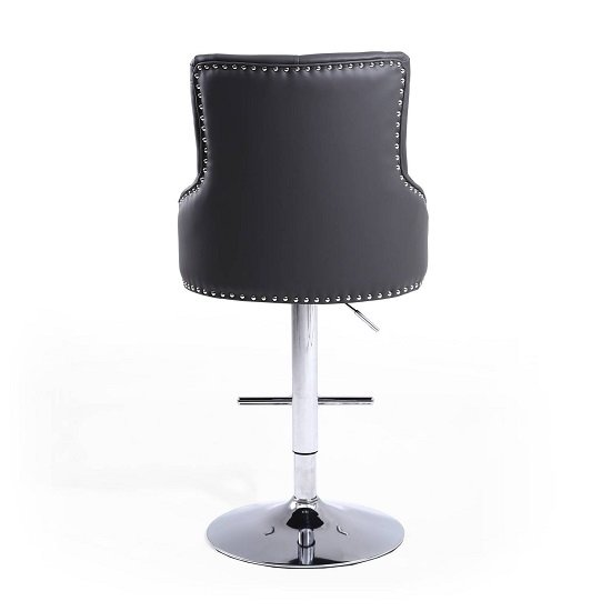 Calico Bar Stool In Graphite Grey With Polished Chrome Base_4