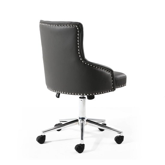 Calico Office Chair In Graphite Grey With Chrome Base_2