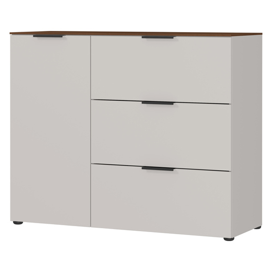 California Chest Of Drawers In Cashmere And Walnut_2