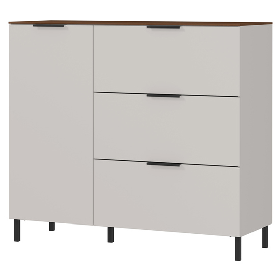 California Chest Of Drawers In Cashmere And Walnut_1