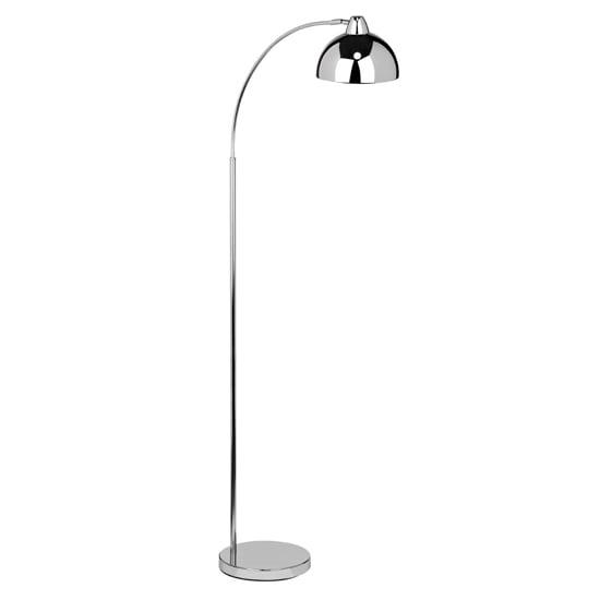 View Callibren metal floor lamp in chrome