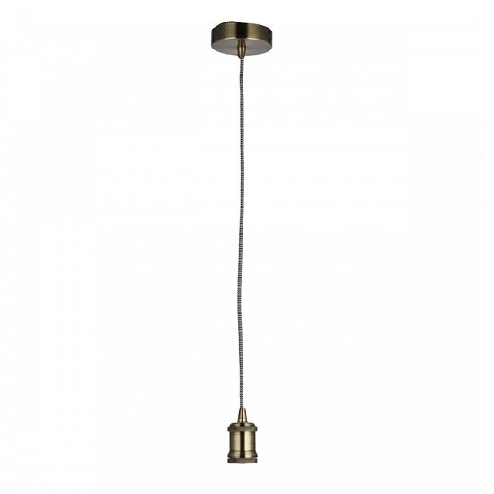 Cambourne Pendant Light In Antique Brass Finish