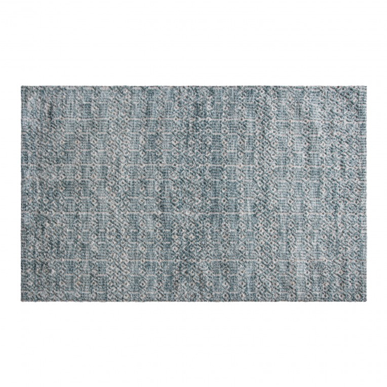 Camphills Extra Large Fabric Upholstered Rug In Duck Egg_1