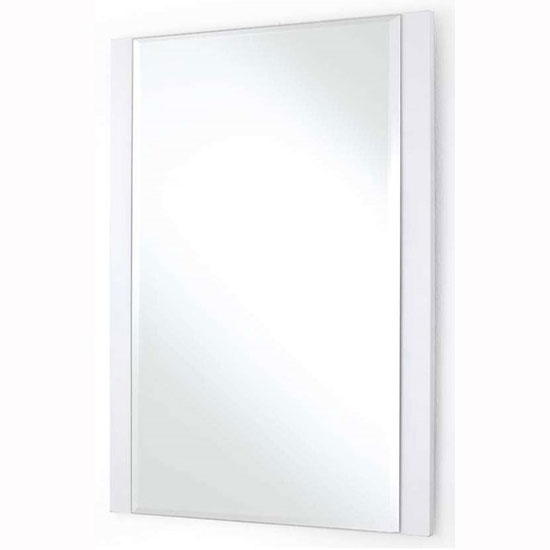 Canberra Wall Mirror Small In White High Gloss_1