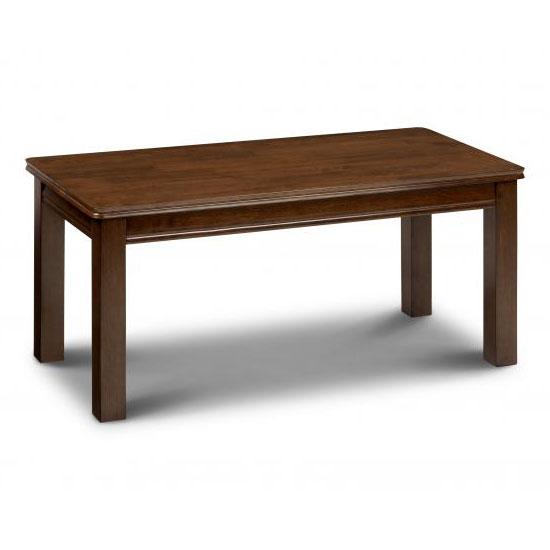 Maya Coffee Table in Mahogany Finish
