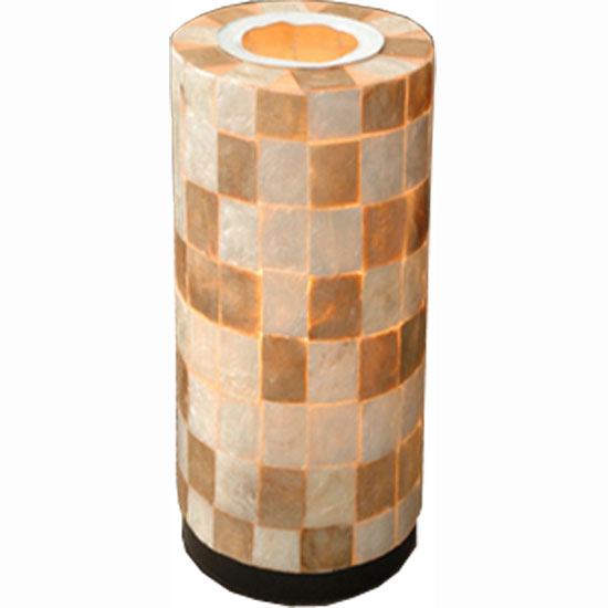 capiz2 table lamp - All New Interior Design Ideas for Vaulted Ceilings