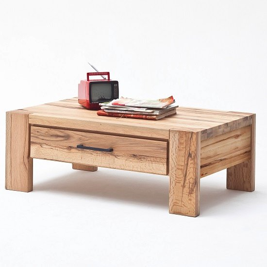 cardiff t65 9480 14 coffee table with 1 drawer - 8 Great Examples Of Furniture With Hidden Compartments Essential For A Small Home