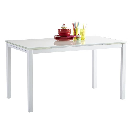 Modanuvo White Black Gloss Oak Extending Storage Coffee: Elgin Extendable Coffee Converting Dining Table In White Glo