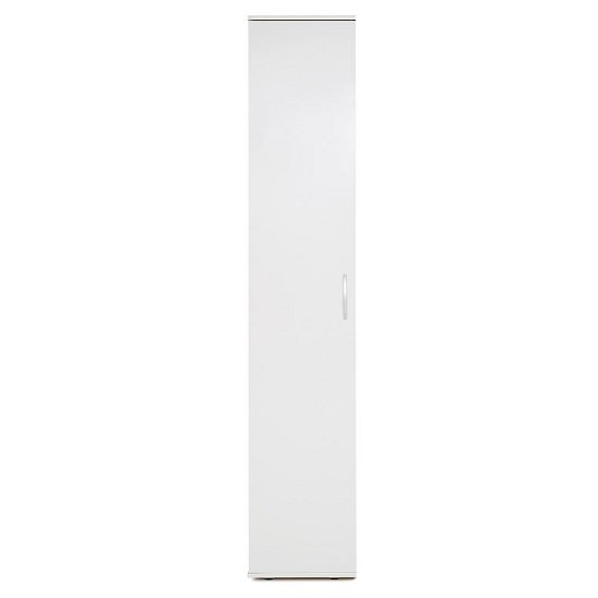 Carla Multipurpose Storage Cabinet In White With 1 Door