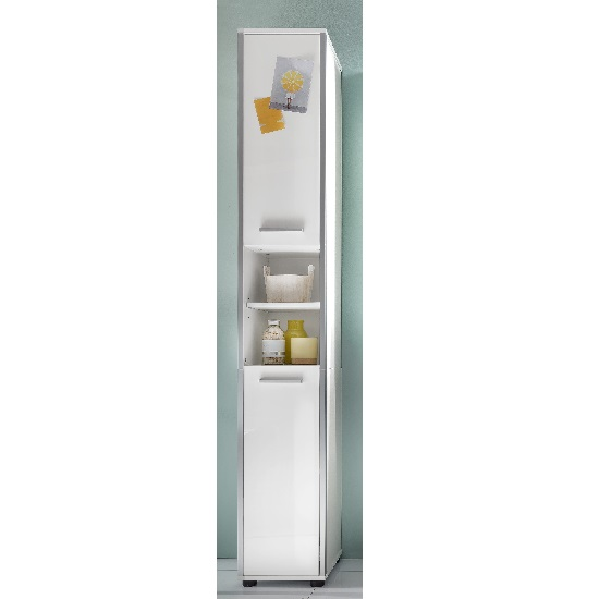 bathroom cabinets carla right bathroom cabinet in white with high