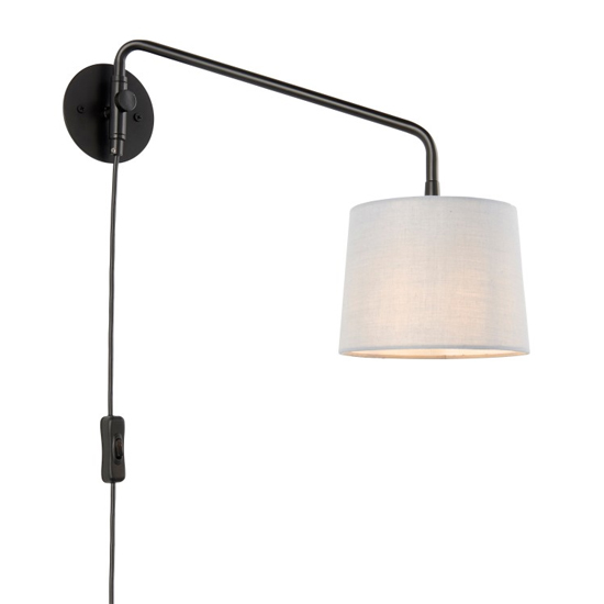 Carlson Small Wall Light In Black