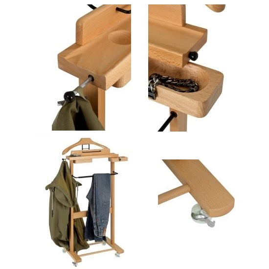 Carly Wooden Mens Valet Stand In Beech_2