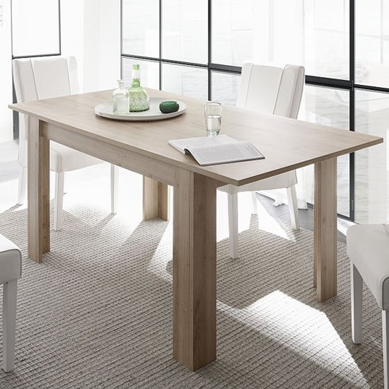 Carney Contemporary Extendable Dining Table In Cadiz Oak_1