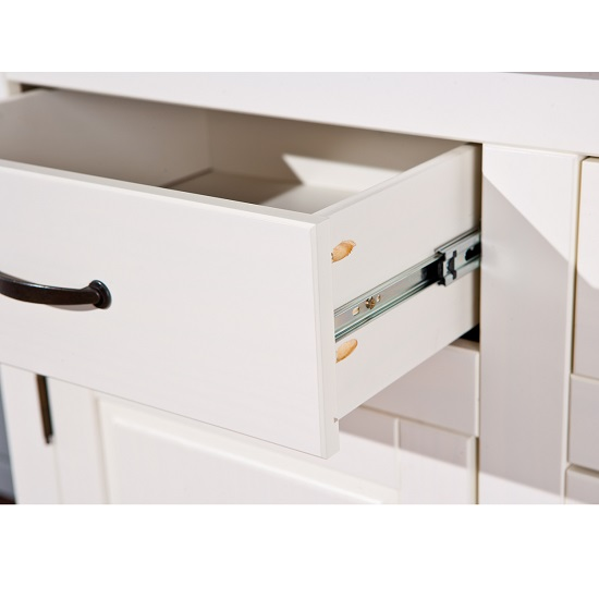 Cassala3 White Wooden SideBoard With 3 Drawers And 3 Door_7
